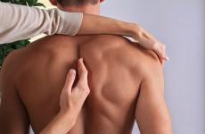Représentation d'une manipulation ostéopathique